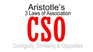 Aristotle's laws of association